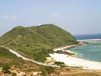 伊平屋島 久葉山(くばやま)